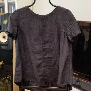 Eileen Fisher, Linen Denim Shirt